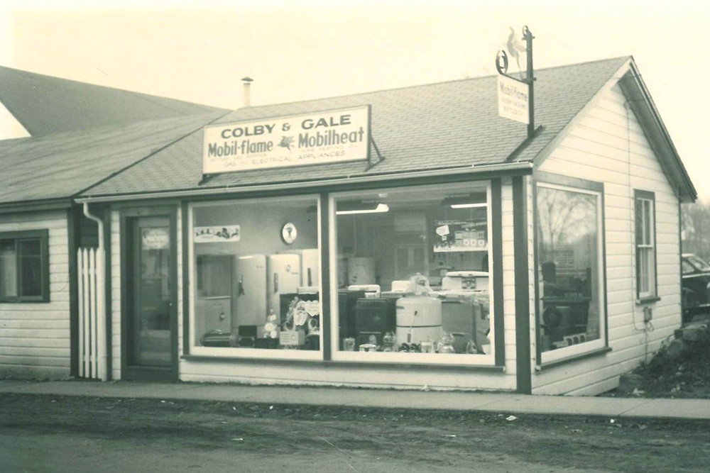 The original Colby & Gale office.