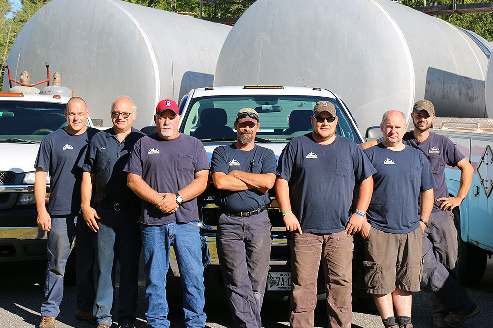 The Colby & Gale crew are a dedicated group of individuals.